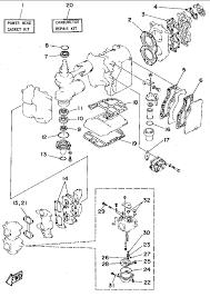 Manual 1995 yamaha repair kit 1 parts for 40 hp c40plrt outboard motor
