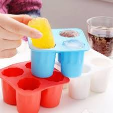 image ice shots glasses silicon tray