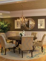 image of contemporary dining room chandelier height