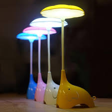 bedroom table lamps lighting. 2017 cute elephant night lights bedroom table lamp rechargeable bedside light baby touch led from soon 1739 dhgatecom lamps lighting c