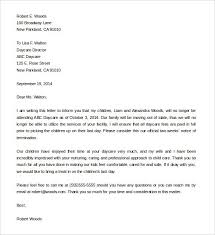 Recommendation Letter For Daycare Employee | Professional Resume ...