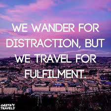 Wander Quotes Stunning Best Travel Quotes The 48 Most Inspirational Travel Quotes