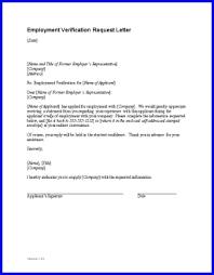 Best Photos Of Job Verification Letter Sample Employment
