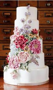 Fondant Wedding Cakes Wedding Cake Design 856922 Weddbook
