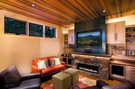 fireplace ideas for small living room. small living room with modern rustic style [design: ryan group architects] fireplace ideas for