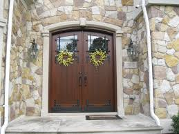 Provia Custom Wood Entry Door In Truffle ProVia Entry Doors - Custom wood exterior doors
