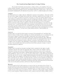 High School Admission Essay Examples Personal Statement Essay Examples For College Graduate Application