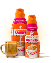 If you enjoy a little sweetness to your creamer, chobani's sweet cream coffee creamer will do the trick. Dunkin Extra Extra Creamer