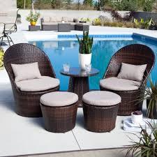 Impressive Zen Circular Sun Bed Outdoor Wicker Patio Furniture