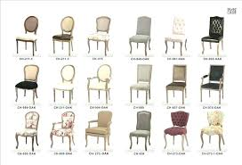 types of dining chairs upholstered chair styles styles of chairs dining room chair styles awesome antique