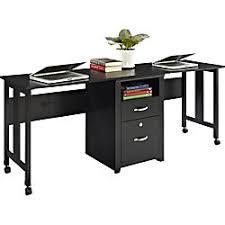 2 person desk. Altra 2-Person Wood Computer Desk, 27 3/4\ 2 Person Desk N