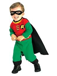 robin costume infant hood diy
