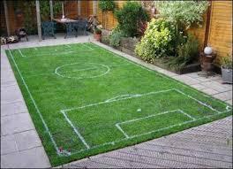 Making The Football Field Set  YouTubeFootball Field In Backyard