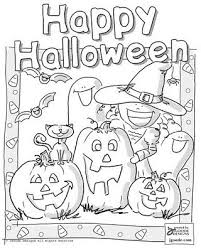 halloween coloring pages for rd graders