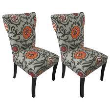 Country Kitchen Willard Ohio Sole Designs Willard Cotton Wingback Cotton Slipper Chair
