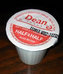 half and half coffee creamer has 50 calories and 5 grams of fat per tablespoon image source dr penny pincher