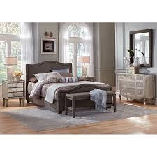 Mirrored Bedroom Set Luxury Mirrored Bedroom Furniture