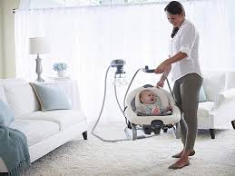 7 Best Baby Swings for Traveling Parents - TripsToDiscover