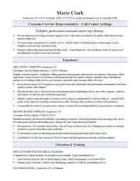 Customer Service Resume Sample For A Representative Fresh Visualize