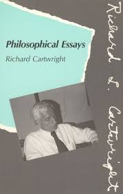 philosophical essays richard cartwright amazon philosophical essays richard cartwright 9780262031301 com books