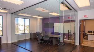 glass wall dividers office. fine wall marsys law offices  heavy glass wall dividers inside office