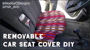 diy car seat covers poncho no sew