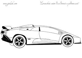 Small Picture Lamborghini Murcielago Coloring Page Free Download
