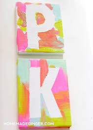 If you need some kids art ideas, make these mini canvas magnets! This is