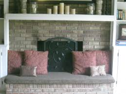 fireplace hearth cover added seating and safer for little ones running around