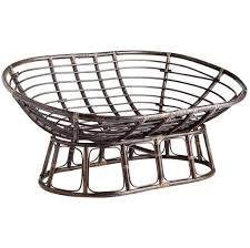 Furniture: Sample Picture Of Modern Metal Double Papasan Chair Frame -  Double Papasan Chair Replacement