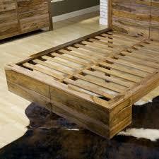 Sheesham Bedroom Furniture Modus Atria Panel Bed In Natural Sheesham Beyond Stores