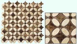 tile shape flower tile thickness 3 8 tiles per sheet 192 sheet size 13 1 8 x 13 1 8