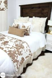 farmhouse quilt bedding. Plain Quilt This Rustic Farmhouse Bedding Set Features Simple Linen Frills With  Textured Fur Suede And Super Soft Intended Quilt 0
