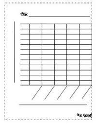 Blank Bar Graph Template Math Bar G
