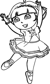 Small Picture Dora Horse Coloring Pages Coloring Pages