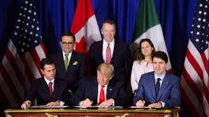 A NEW NAFTA – Trump signs updated accord to replace NAFTA