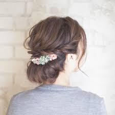 超簡単なのに可愛いまとめ髪 ギブソンタックの素敵なヘアアレンジ