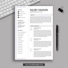 Digital Resume Templates Template Office Word Cv Template Pre Formatted Resume