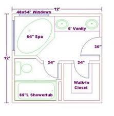 layouts walk shower ideas: master bathroom floor plans walk in shower free bathroom plan design ideas master baths