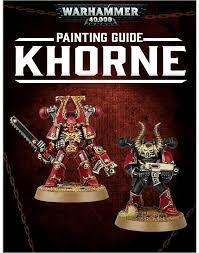 warhammer 40 000 khorne painting guide