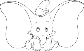 Mother And Baby Elephant Coloring Pages Mom Mommy Page For Am