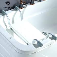 bathtub seats for elderly aluminum bathtub handicap shower chair lightweight across suspended bath seat anti slip