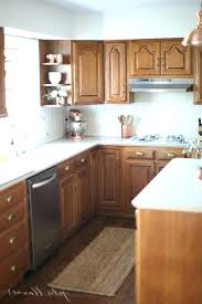 Update Oak Kitchen Cabinets Cool Inspiration