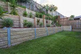 some retaining wall options when