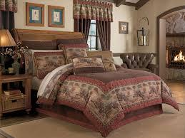 image of rustic comforter sets full