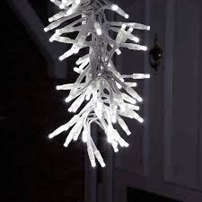 Snowfall Blizzard Led String Light 2019 Christmas Led Soft Snowfall Cluster Lights 70cm