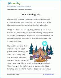See more ideas about 2nd grade worksheets, teaching phonics, english phonics. Free Printable Second Grade Reading Comprehension Worksheets K5 Learning