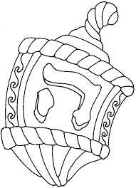 Small Picture Dreidel coloring page