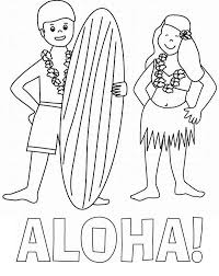 Small Picture Aloha is Hawaiian Greet Coloring Page NetArt