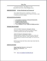Architect Resume Example Software Architect Resume Objective ...